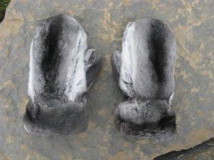 Варежки из шиншиллы
