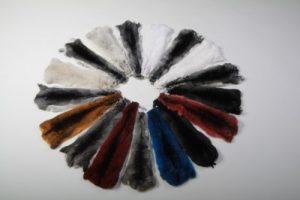 Набор покрашенных шкур - все цвета